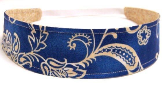 NEW  -  Reversible Fabric Headband   -   ALANNA   Headbands for Women