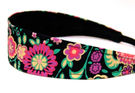 NEW  -  Girls Child Children's Headband  -  MIKAYLA    Reversible Fabric
