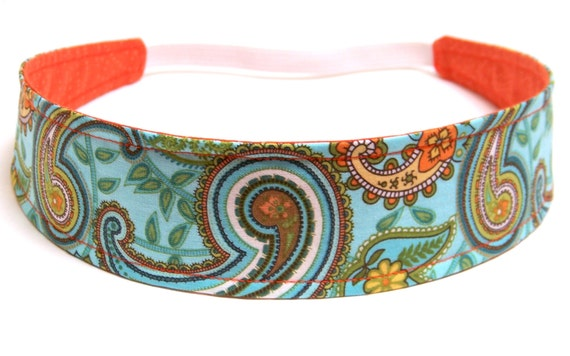 NEW  -  Reversible Fabric Headband  -  ANGELA  -  Headbands for Women