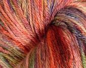 Mountain Sunset Tencel\/Superwash Merino Sock Yarn - 110 grams