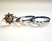 Celestial Stacking Rings (stack of 3)