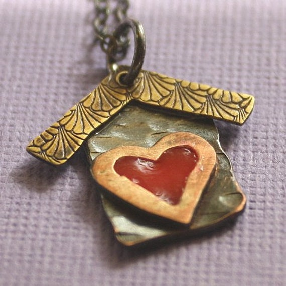 Where the Heart is Necklace