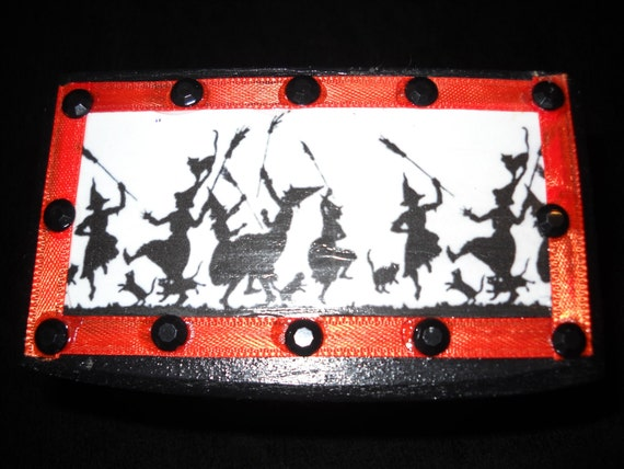 Dancing Witches Halloween Trinket Box