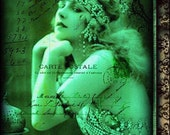Buy One Get One Free - The Romantic's Friend   (a vintage belly dance art print)