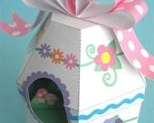 Easter Egg Diorama Printable Paper Craft PDF