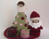 Sale - Amigurumi Patterns Crochet Christmas Pattern Collection Digital Download