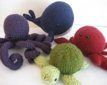 Amigurumi Knits Download : Popular items for amigurumi whale on Etsy