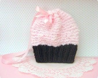 Amigurumi Pattern Knit Simple Cupcake Purse Digital Download