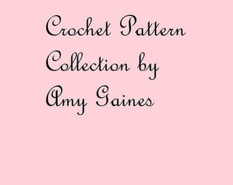 All of Amy Gaines Crochet Patterns PDF