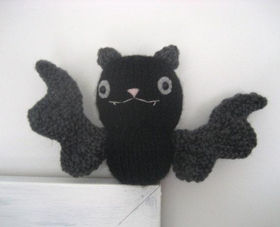 Amigurumi Bat Wings : Amigurumi Knit Bat Pattern Digital Download from AmyGaines ...