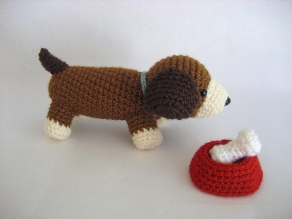 Amigurumi Crochet Puppy Play Set Pattern Digital Download