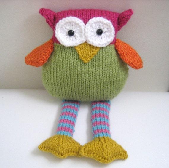 PDF- Knit Owl Pattern
