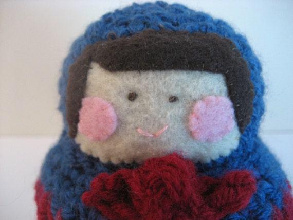 Amigurumi Matryoshka Doll