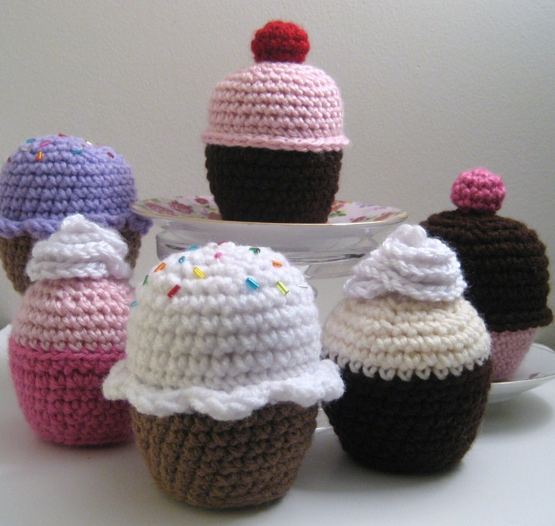 Amigurumi Cupcake Crochet Pattern PDF