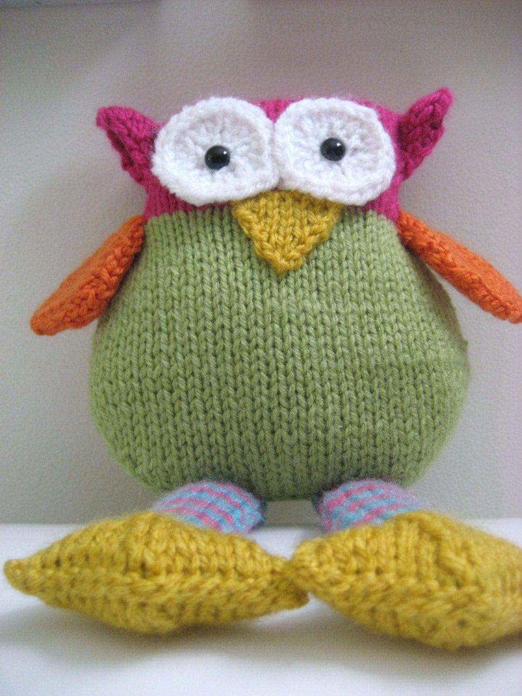 PDF Knit Owl Pattern