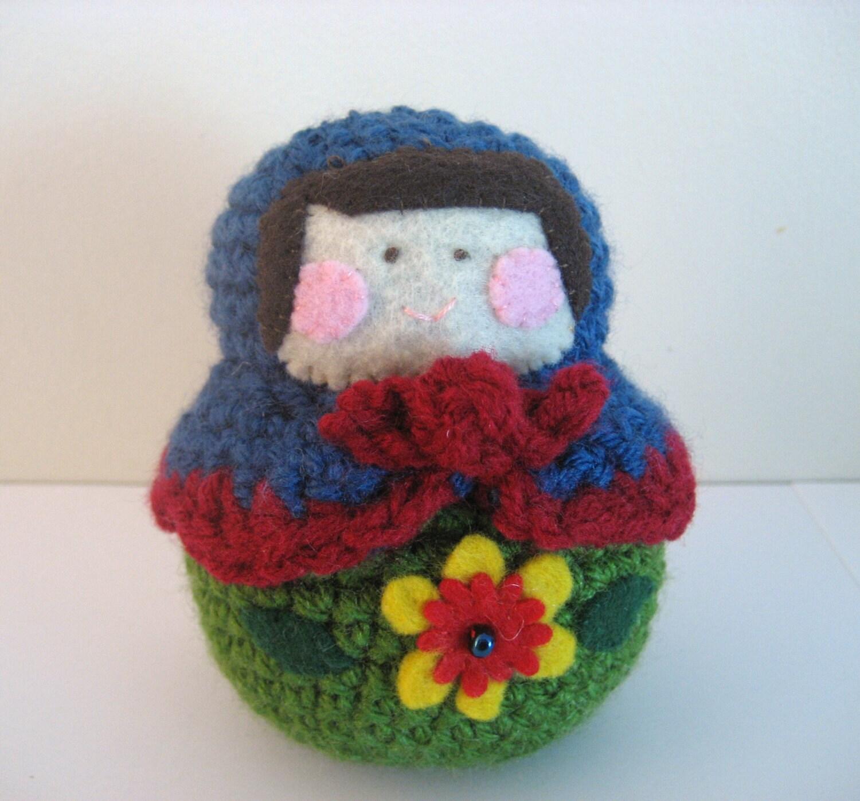 Amigurumi Russian Dolls : Amigurumi Matryoshka Doll