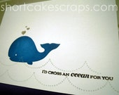 I'd cross an ocean for you greeting card