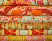 Amy Butler Fabric / Soul Blossoms /  6 Half Yards - Cotton Quilt Apparel  Fabric