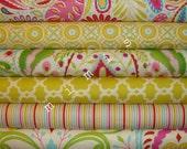 Dena Designs Fabric /  KUMARI GARDEN /  6 Half Yard Bundle -  Cotton Quilt Fabric