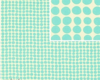 LOVE Fabric by / / Amy Butler /  Sunspots in Turquoise,,1 yd Quilt Apparel Fabric,,,,,