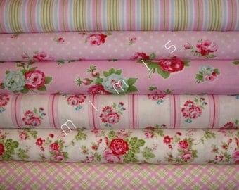 SALE!! DELILAH Collection / Tanya Whelan Fabric / 6  Half Yard  Quilt Fabric Bundle