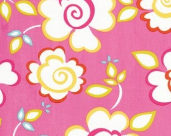 Dena Designs KUMARI GARDEN Fabric / Sachi in Pink  - 1 Yard Quilt Fabric