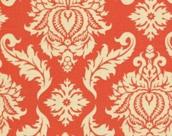 Joel Dewberry Fabric / Damask Saffron / AVIARY 2 Collection  Cotton Quilt Fabric 1 yard