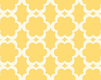 Dena Designs Fabric / Tarika in Yellow / Taza Collection / 1 Yard Cotton Quilt Fashion Fabric