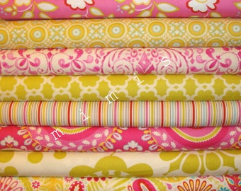 Dena Designs Fabric / KUMARI GARDEN / 8 Half Yard  Bundle - Cotton Quilt Fabric