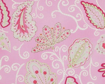 1 yd Madalein in Pink / Pretty Little Things Fabric by Dena Designs / MADALEIN in PINK - Cotton Quilt Fashion Fabric