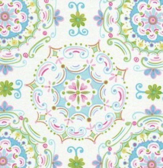 dena designs fabric tea garden dream right in blue 1