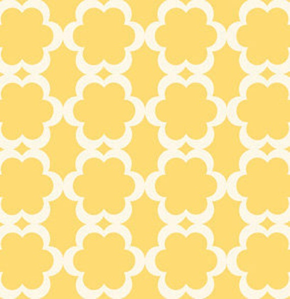 Dena Designs Fabric / Tarika in Yellow / Taza Collection / 3/4 Yard Cotton Quilt Fashion Fabric