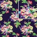 Amy Butler Fabric / LOVE Collection / Water Bouquet in Midnight / 1 Yd Cotton Quilt Designer Fabric