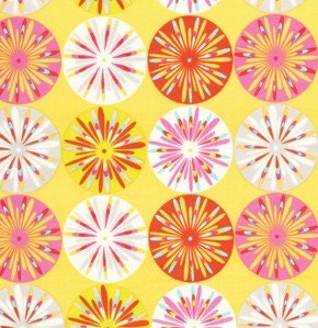 Dena designs kumari garden sashi in pink 1 yard quilt fabric for Kumari garden fabric by dena designs