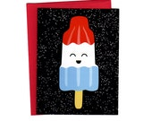 Rocket Pop Set of Six Cards, Envelopes, and Stickers