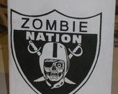 Zombie Nation Pocket Coloring Book