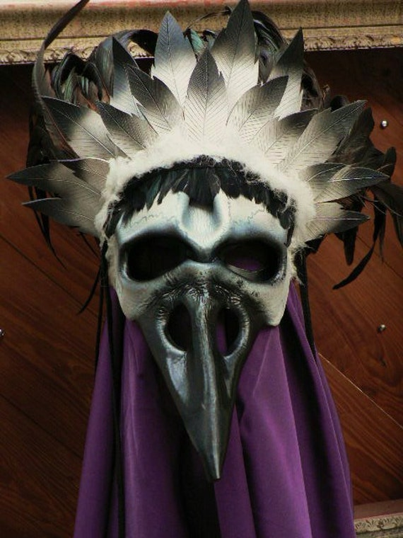 Death of Birds, leather mask