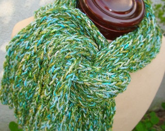 Green Eggs and Glam Scarf