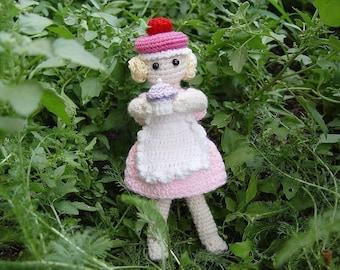 Cupcake Fairy Doll PDF Amigurumi Pattern