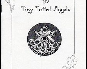 Tatting Pattern Book - 15 Tiny Tatted Angels - Easy Tatting Patterns