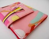 CLEARANCE SALE Walking Girls business card wallet