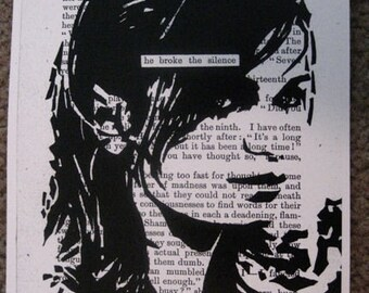 PRINT - He Broke the Silence