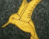 Mustard Hummingbird Patch