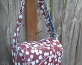 Chestnut Branches Messenger Bag