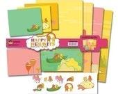 Happy Hermits' Stationery Set