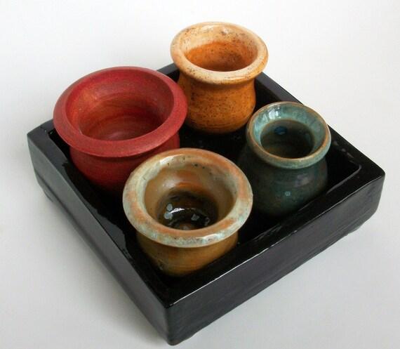 Tray of Pots