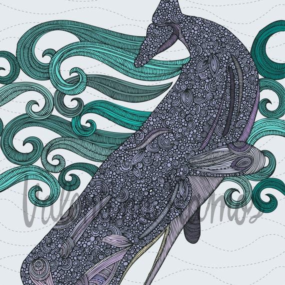 Deep Violet (the whale)
