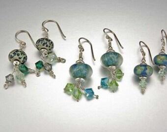 Boro Bead Earrings