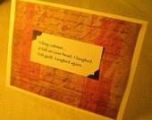 Faiku Greeting Card...filing cabinet...adult content