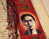 Frida Greeting Card with Matching Bookmark